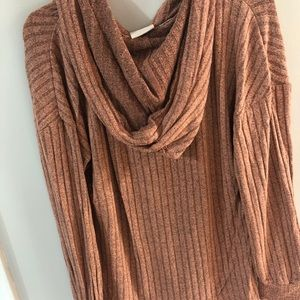 Knox Rose Sweaters - Women's small sweater with hood new